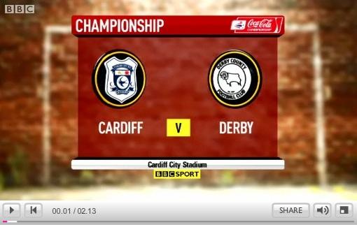 Cardiff v Derby 260909